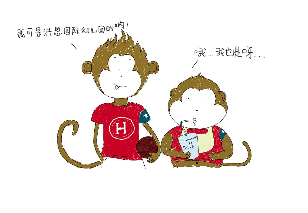 猴子卡通图片大全